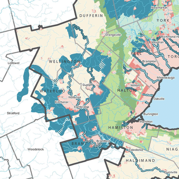 Proposed Bluebelt in Waterloo Region