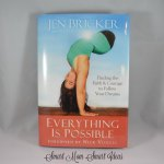 No more excuses! In a highly inspiring book, Jen Bricker shares her life story. You will be inspired and have no excuses for not pursing your dreams.