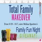 total family makeover - family fun night giveaway