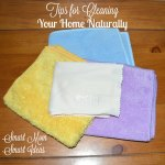 Tips for natural home cleaning. Simple ways to keep your home clean chemical free.