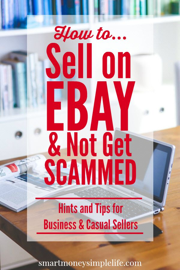 side hustles - selling on ebay
