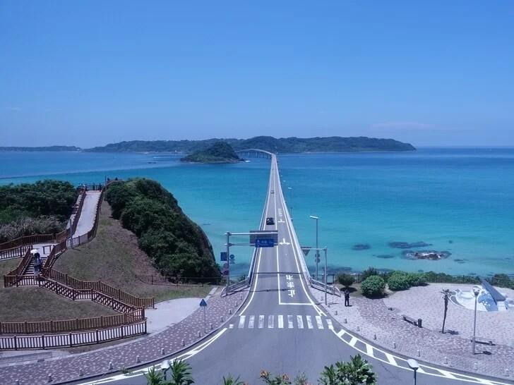 角島大橋を撮影した写真その1