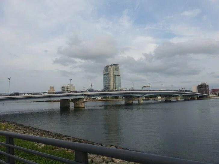 宍道湖大橋を撮影した写真