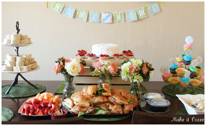 Housewarming party ideas for Easy housewarming party food