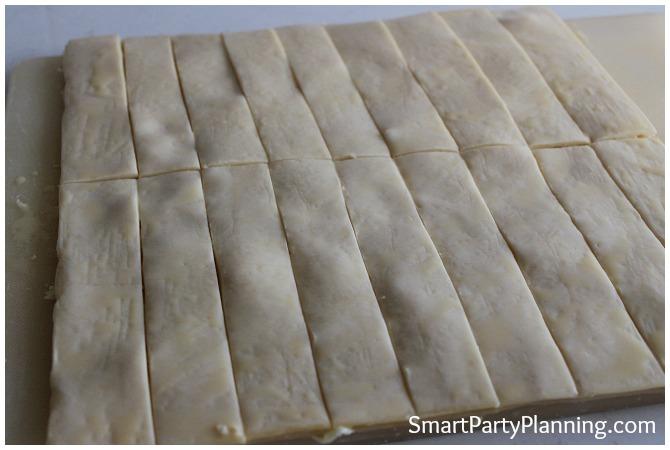 Cheese Puffs preparation