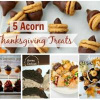Acorn Thanksgiving Treats