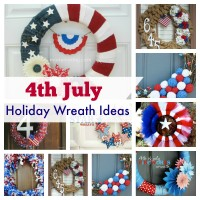 4th July Holiday Wreath