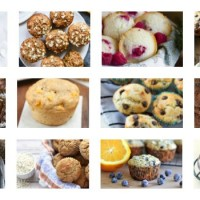 Healthy sweet muffins