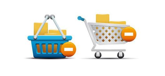Basket and Shopping Cart Icons 35 High Quality Free Ecommerce Icons