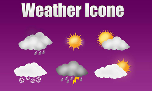 weather icon set 12 35 Free Weather Icon Set