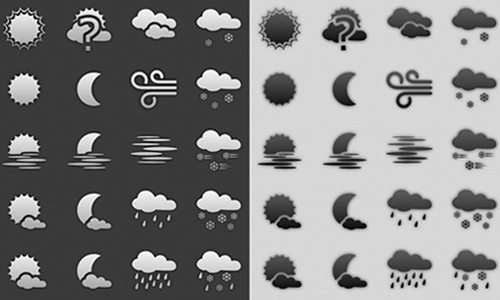 weather icon set 22 35 Free Weather Icon Set