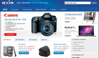 axiscommerce 15 Best Open Source Ecommerce CMS