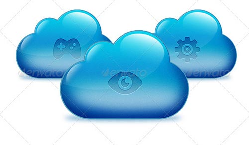 best premium cloud icons set 02 38 Best Premium Cloud and Forecast Icons Set