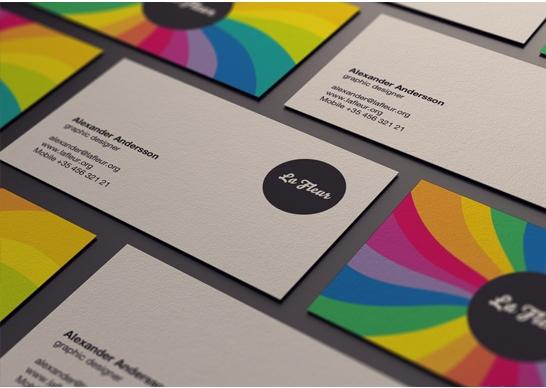 colorful business card inspiration 06 40 Colorful Business Cards Inspiration