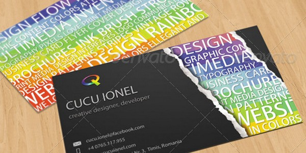 colorful business card inspiration 24 40 Colorful Business Cards Inspiration