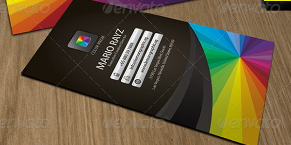 colorful business card inspiration 27 40 Colorful Business Cards Inspiration