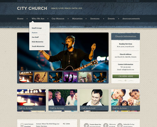 free and premium church wordpress themes Ezekiel 30 Free and Premium Church Wordpress Themes