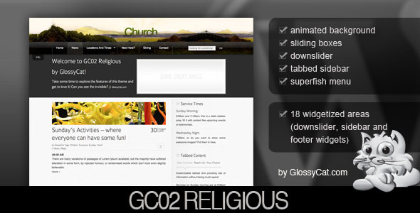 free and premium church wordpress themes Religious 30 Free and Premium Church Wordpress Themes