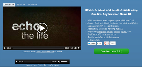 html5 video player 12 15 Best Free HTML5 Video Players