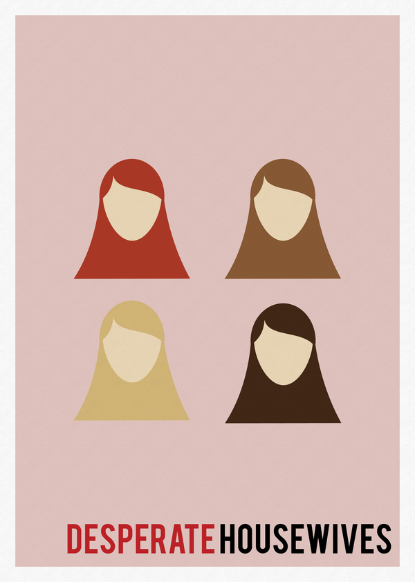 minimal tv shows posters 07 Minimal TV Shows Posters Inspiration by Marisa Passos