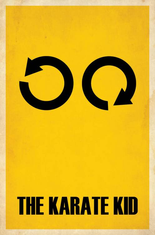 minimalist film posters matt owen 01 Simple and Minimalist Film Posters by Matt Owen