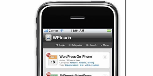wptouch 14 Free Mobile WordPress Themes and Plugin