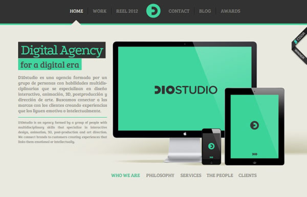 D10studio Web Design Inspiration #9