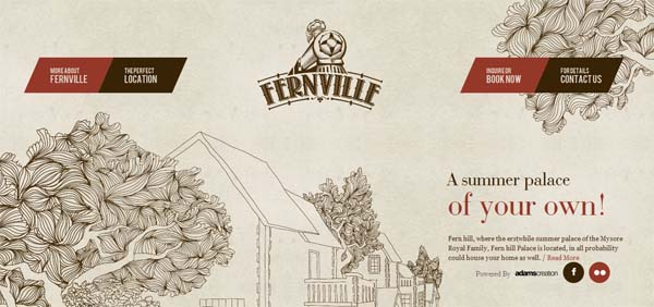 Fernville Web Design Inspiration #12