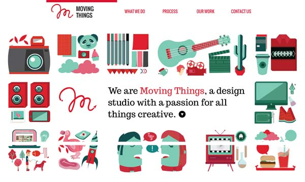 Moving Things Web Design Inspiration #12