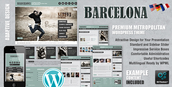 best business wordpress themes 09 25 Best Business WordPress Themes for August 2012