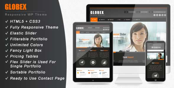 best business wordpress themes 10 25 Best Business WordPress Themes for August 2012