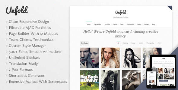 best portfolio wordpress themes 01 25 + Best Portfolio WordPress Themes for August 2012