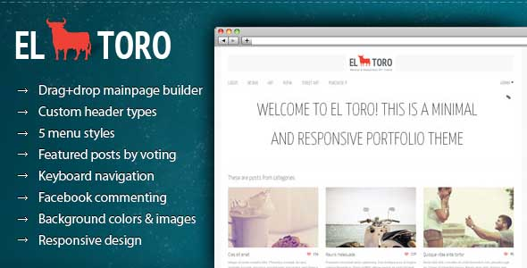 best portfolio wordpress themes 22 25 + Best Portfolio WordPress Themes for August 2012