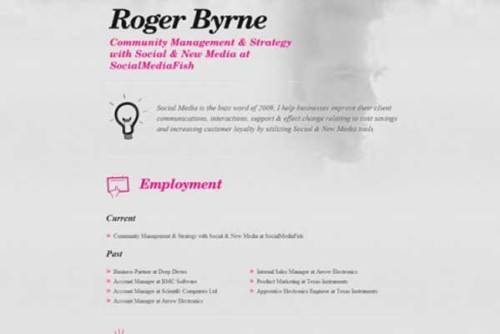 creative resume template 20 22 Free Creative Resume template