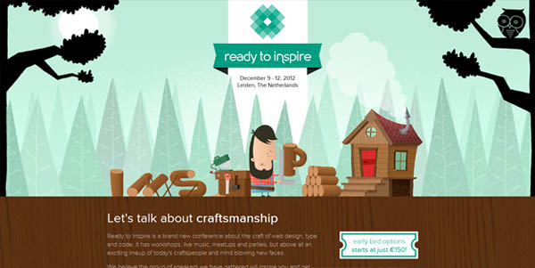 inspire conference Web Design Inspiration #8