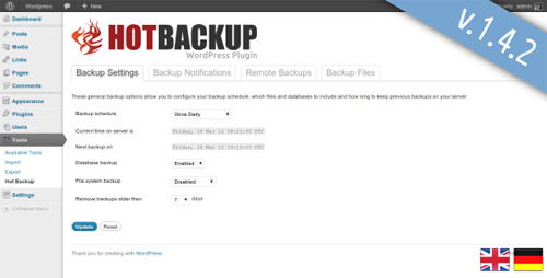 top wordpress backup plugins 08 13 Top WordPress Backup Plugins