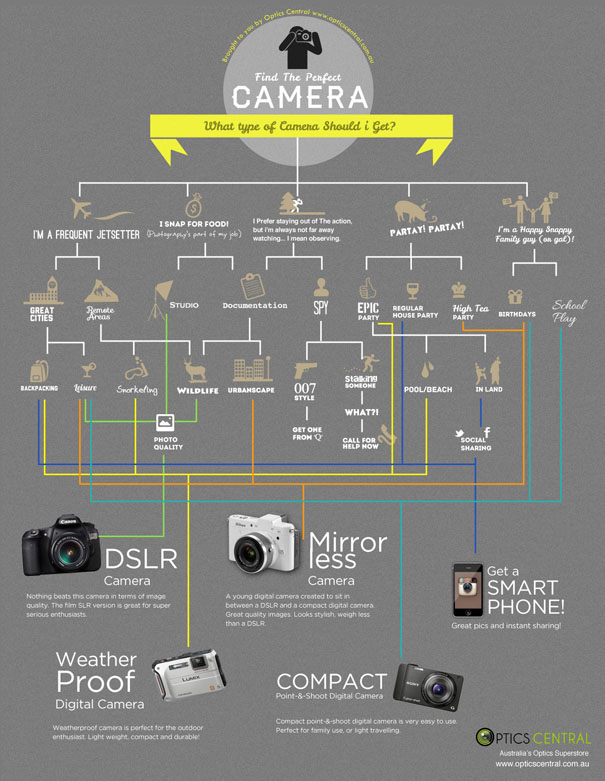 what type of camera should i get infographic What Type of Camera Should I Get? [Infographic]