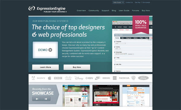 ExpressionEngine Web Design Inspiration #13