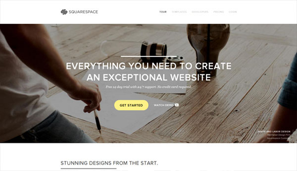SquareSpace Web Design Inspiration #14