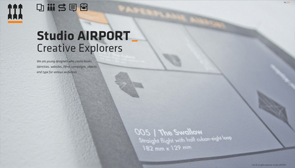 Studio AIRPORT Web Design Inspiration #14