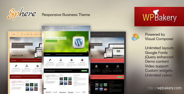 best business wordpress themes 08 15 Best Business WordPress Themes for September 2012