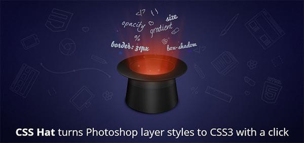 css hat 8 Useful Photoshop Plugins For Web Designer