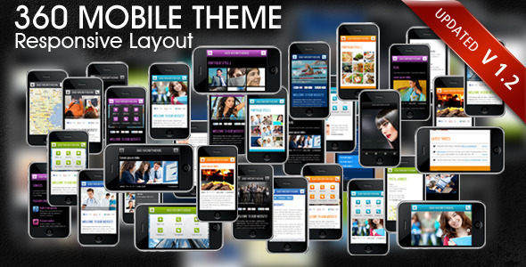 mobile website templates 40 50 Best Mobile Website Templates