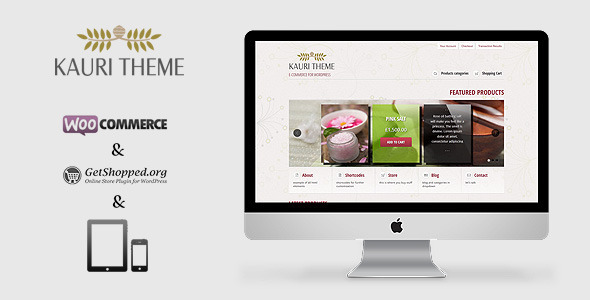 responsive ecommerce wordpress themes 12 27 Responsive Ecommerce Wordpress Themes