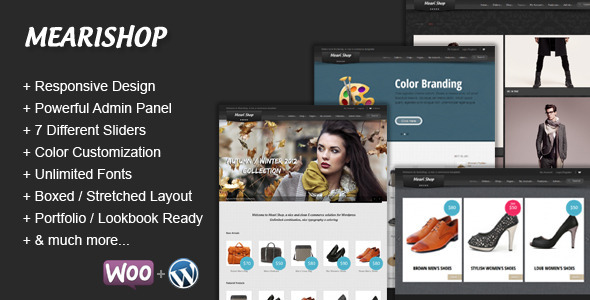 responsive ecommerce wordpress themes 17 27 Responsive Ecommerce Wordpress Themes