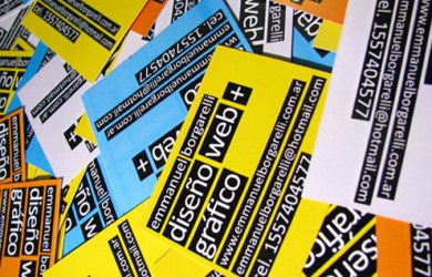 typographic-business-cards