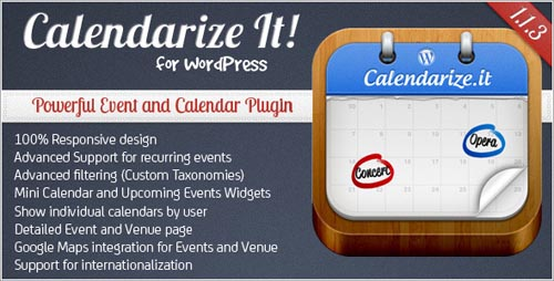 wordpress calendar plugins 10 15 Top WordPress Calendar Plugins