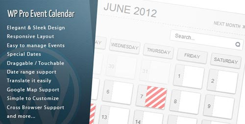 wordpress calendar plugins 13 15 Top WordPress Calendar Plugins
