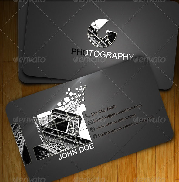 photography business card templates 05 15 Best Photography Business Card Templates