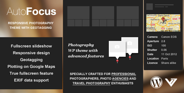 photography wordpress themes 01 10 Best Photography WordPress Themes for October 2012